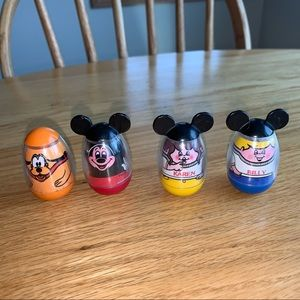 Vintage Disney Weebles wobbles Mickey Mouse club